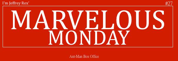 I'm Jeffrey Rex' Marvelous Monday 27