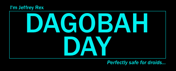 Dagobah Day - 2016