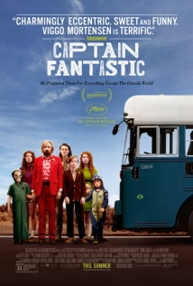 Captain Fantastic Poster - Blue
