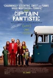 Captain Fantastic Poster - Blue