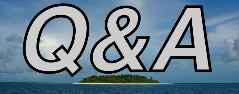 Desert Island - Q&A