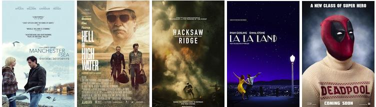 Amazon Studios; CBS Films; Summit Entertainment; Summit Entertainment; 20th Century Fox.