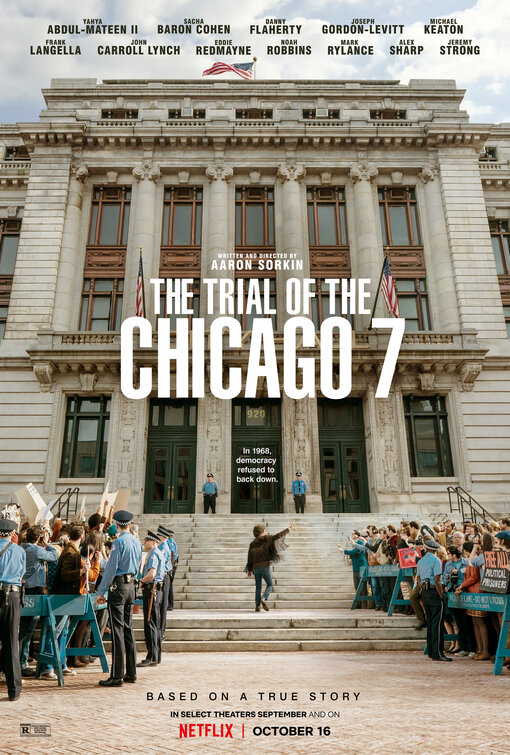 Trial of the Chicago 7 Film Poster